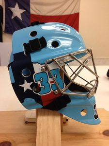 Goalie Helmet Wrap Hockey